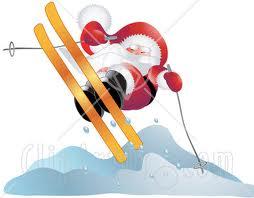 jul på ski