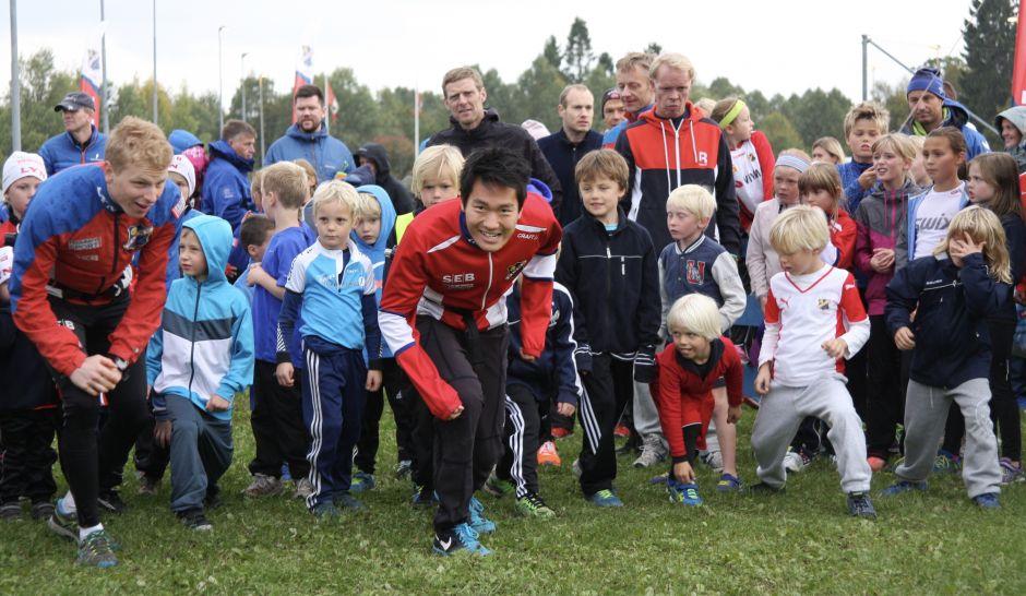 Lynløp2014 start