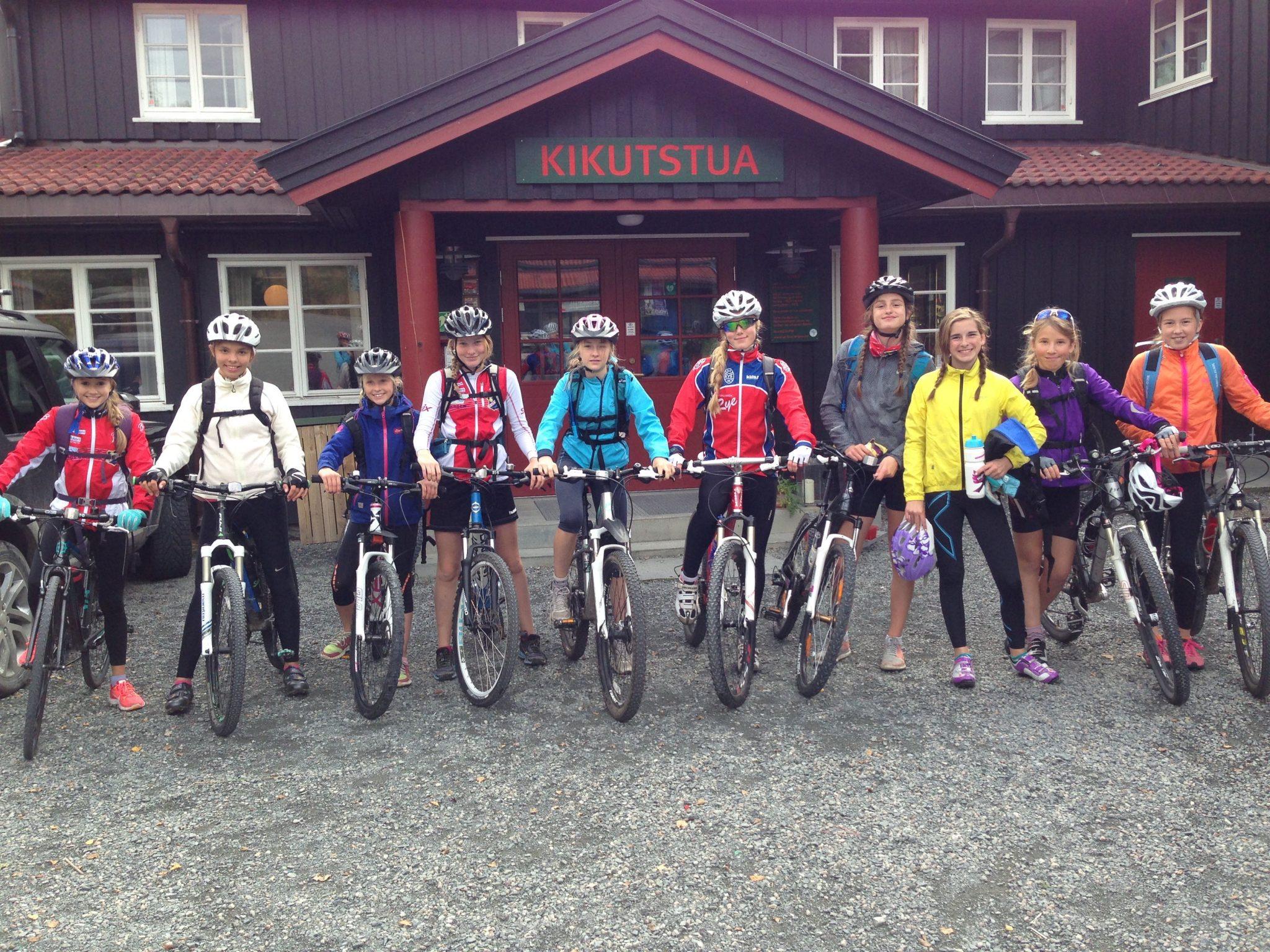 Koll og Lyn sykkeltur 20.sept Kikut