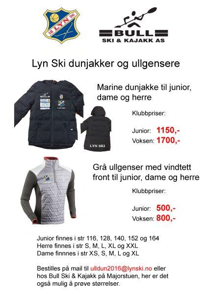 Bilder Ullgenser Dunjakke 2016